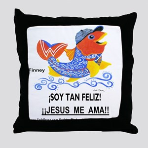 Spanish! Feliz! Throw Pillow