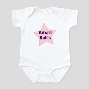 Amari Rules Infant Bodysuit