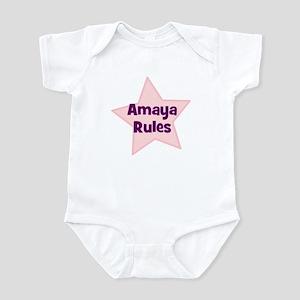 Amaya Rules Infant Bodysuit