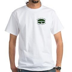 Chesapeake Arboretum Logo White T-Shirt