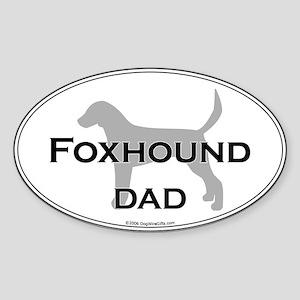 En. Foxhound DAD Oval Sticker