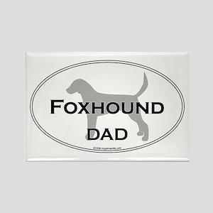 En. Foxhound DAD Rectangle Magnet