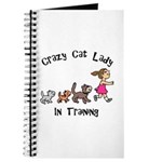 Crazy Cat Lady In Training Journal