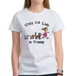 Crazy Cat Lady In Training Women's T-Shirt