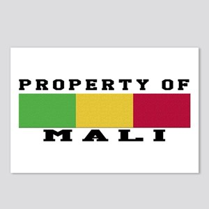 Property Of Mali Postcards (Package of 8)