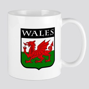 Wales Coat of Arms Mug