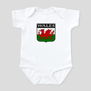 Wales Coat of Arms Infant Bodysuit