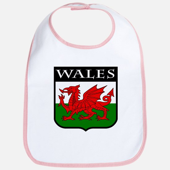 Wales Coat of Arms Bib