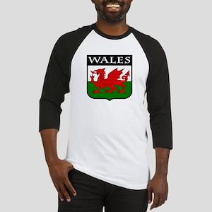 Wales Coat of Arms Baseball Jersey