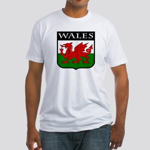 Wales Coat of Arms Fitted T-Shirt