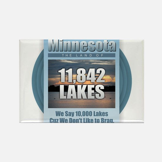 Minnesota Lakes Magnets