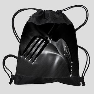 forks8x10 Drawstring Bag