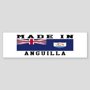 Anguilla Made In Sticker (Bumper)