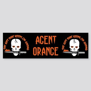 Agent Orange: The Gift Bumper Sticker