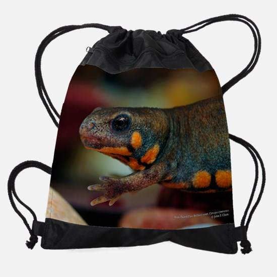 Blue-Tailed Fire-Bellied Newt - Cyn Drawstring Bag