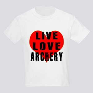 Live Love Archery Kids Light T-Shirt