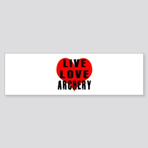 Live Love Archery Sticker (Bumper)