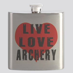 Live Love Archery Flask