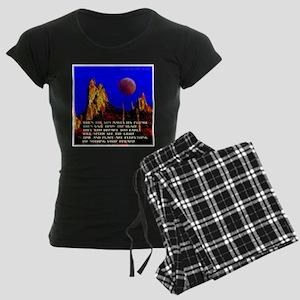 The Blaze Time & Place Women's Dark Pajamas