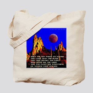 The Blaze Time & Place Tote Bag