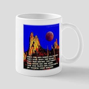 The Blaze Time & Place Mug