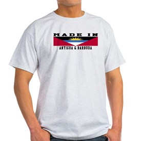 Antigua and Barbuda Made In T-Shirt
