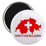 Switzerland-4 Magnet