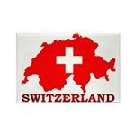 Switzerland-4 Rectangle Magnet (100 pack)