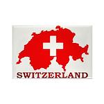 Switzerland-4 Rectangle Magnet (10 pack)