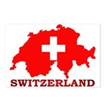 Switzerland-4 Postcards (Package of 8)