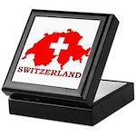 Switzerland-4 Keepsake Box