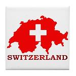 Switzerland-4 Tile Coaster