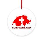 Switzerland-4 Ornament (Round)