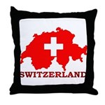 Switzerland-4 Throw Pillow