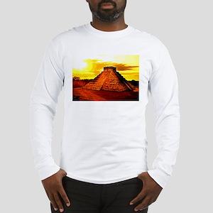 Mayan Temple Long Sleeve T-Shirt