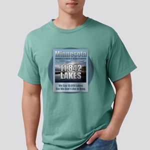 Minnesota Land of Lakes Mens Comfort Colors Shirt