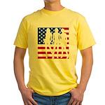Stars & Stripes Forever Yellow T-Shirt