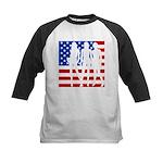Stars & Stripes Forever Kids Baseball Jersey