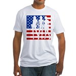 Stars & Stripes Forever Fitted T-Shirt