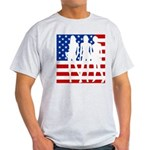 Stars & Stripes Forever Ash Grey T-Shirt