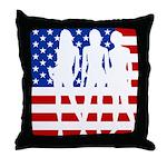 Stars & Stripes Forever Throw Pillow
