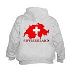 Switzerland-4 Kids Hoodie