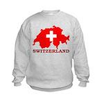 Switzerland-4 Kids Sweatshirt