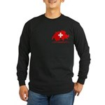 Switzerland-4 Long Sleeve Dark T-Shirt