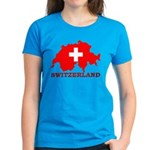 Switzerland-4 Women's Dark T-Shirt