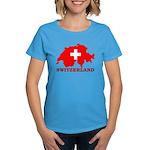 Switzerland-4 Women's Dark T-Shirt