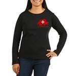 Switzerland-4 Women's Long Sleeve Dark T-Shirt