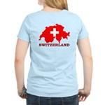 Switzerland-4 Women's Light T-Shirt