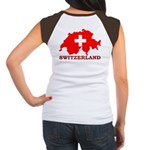 Switzerland-4 Women's Cap Sleeve T-Shirt