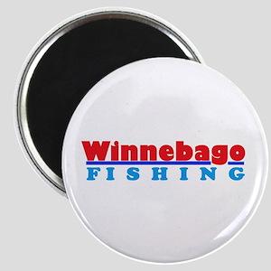 Winnebago Fishing Magnet